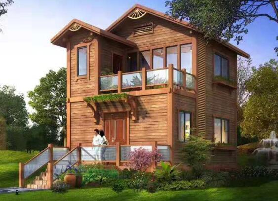 户外木屋景观设计图展示