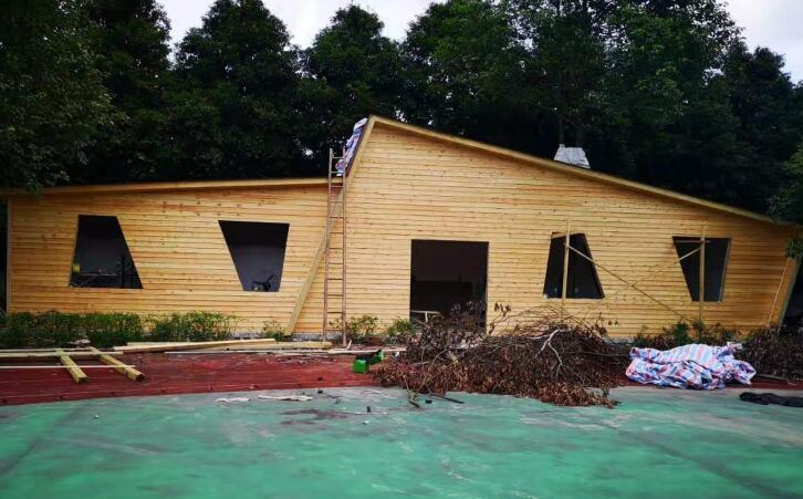 华阳三星小学木屋工程