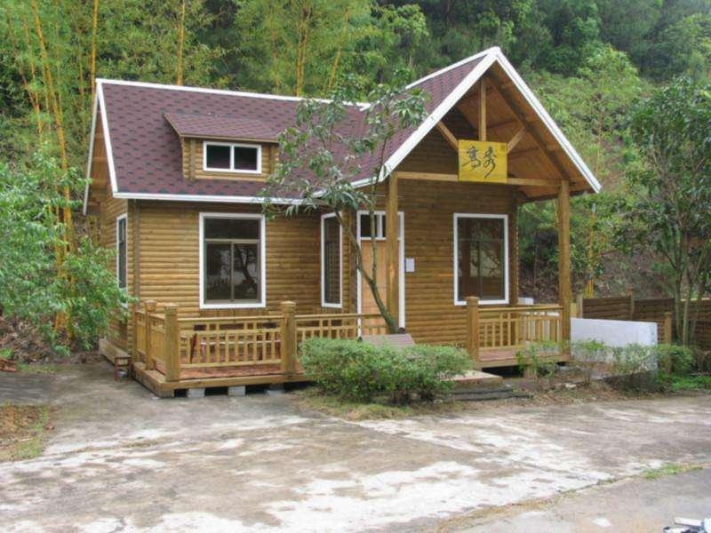 四川户外木屋景观客户见证