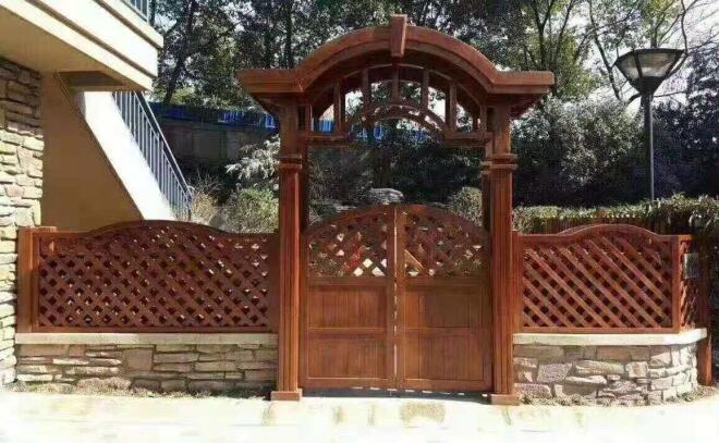 四川防腐木栅栏