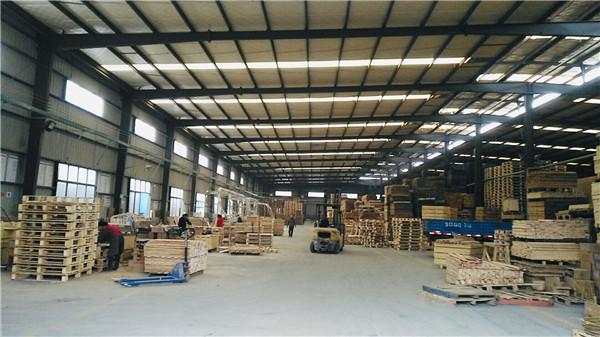 四川木包装箱生产厂房展示