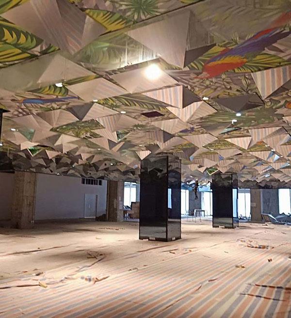 重庆不锈钢工程合作案例-重庆中渝商场
