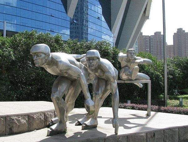成都不锈钢雕塑工程
