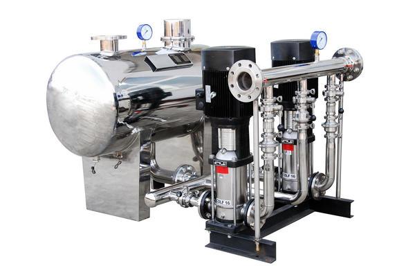 无负压变频供水设备设备特点