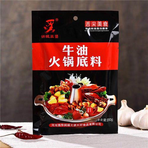娲城虾火锅底料加盟
