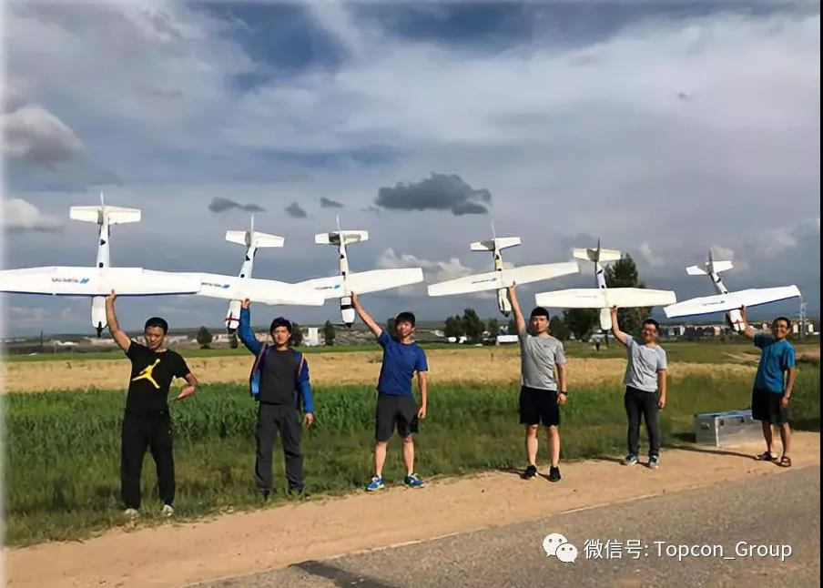 首次6架天狼星 Sirius Pro无人机联合航测