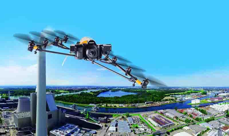 猎鹰8行业应用案例 — 光伏风电新能源行业检测