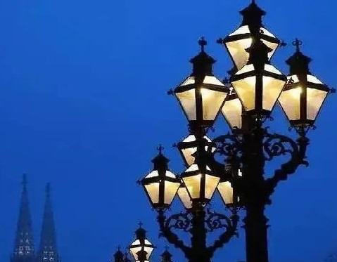 欧式灯案例一