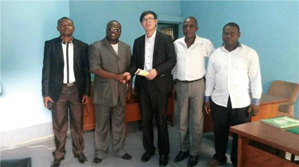 与非洲林业部合作