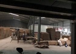 西安竹木纤维集成墙板生产车间