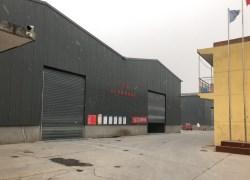 竹木纤维快装集成墙板生产车间