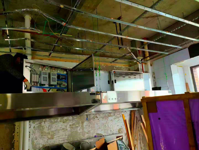 西安厨房油烟管道