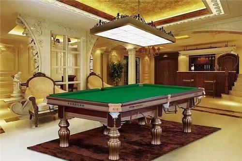实木底架台球桌