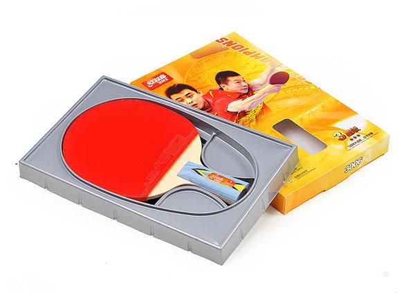 红双喜三星级乒乓球拍