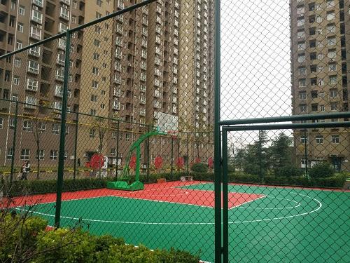 西安体育用品,地坪工程合作案例