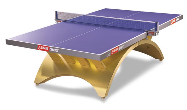红双喜金彩虹乒乓球台(LED)金彩虹