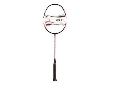 迈瑞卡4U高级全碳素羽毛球拍P770黑