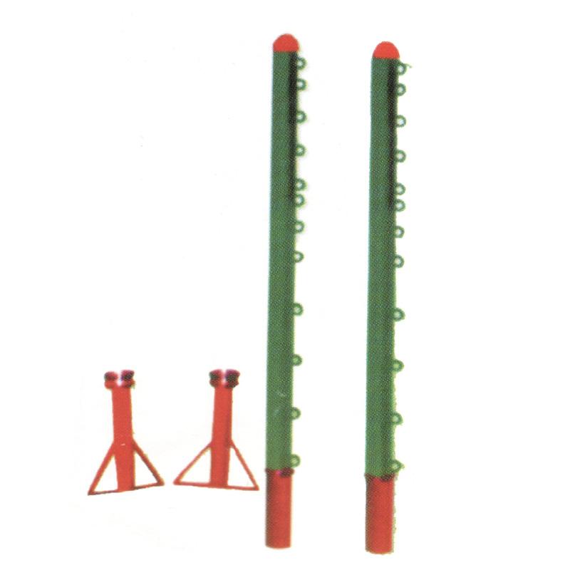 地插式排羽三网柱GH-6052