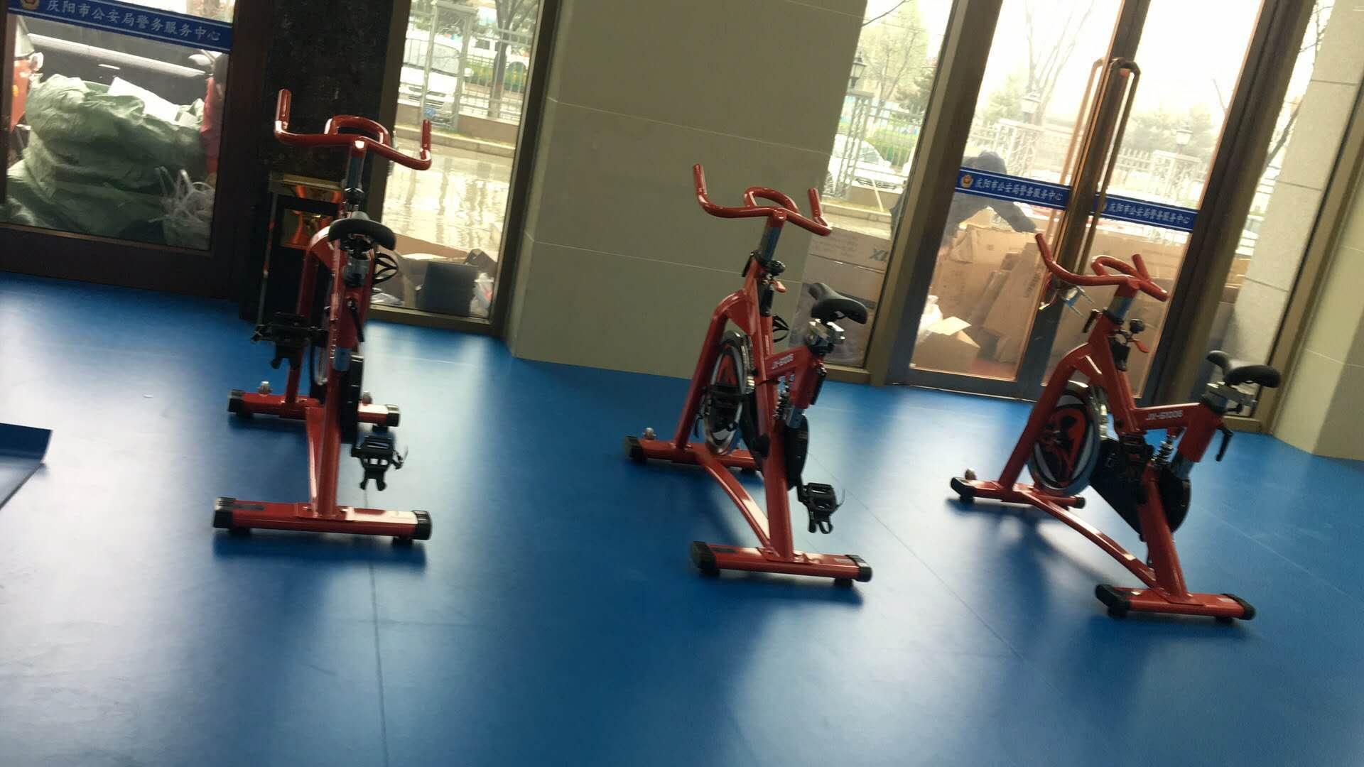 庆阳市公安局室内单位健身房器材合作案例