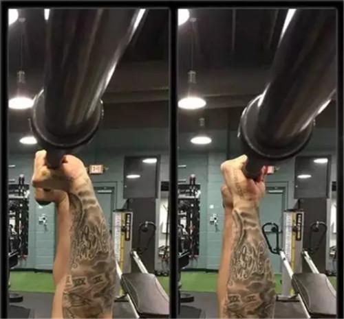 3种健身房器械握杠方法,你握对了吗?