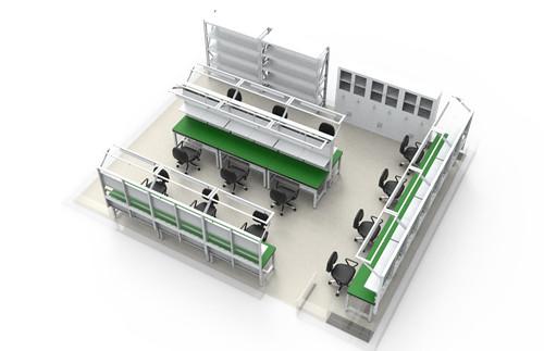西安防静电工作台安装