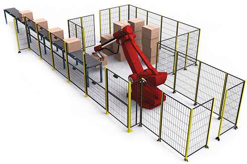 机器人围栏