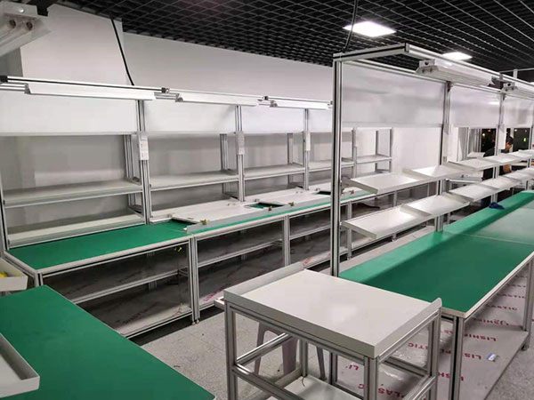 工业铝型材组装线