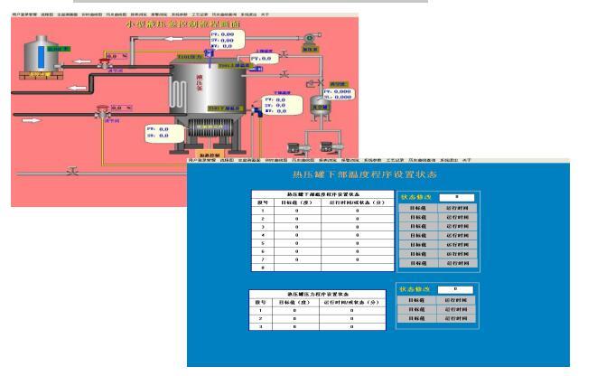 液压釜自动监控系统
