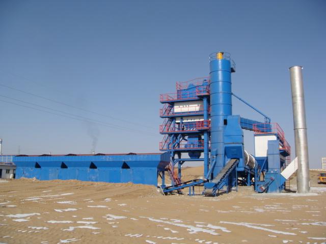 陕西路邦LB2000型沥青搅拌设备