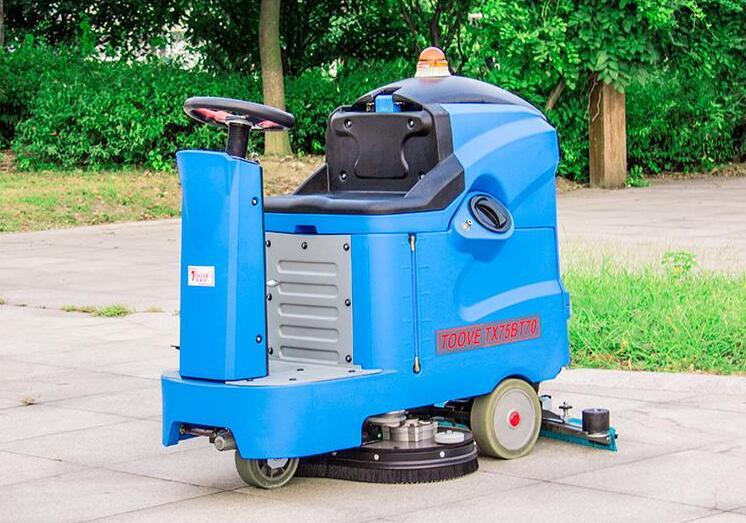 直通式洗地机的作业原理,西安洗地机批发厂家给你们介绍