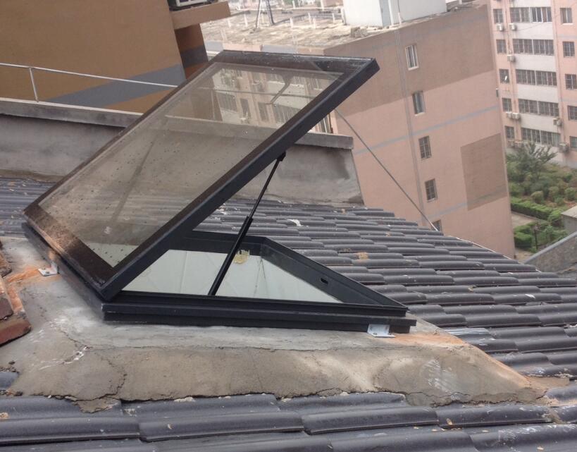陕西屋顶电动天窗安装