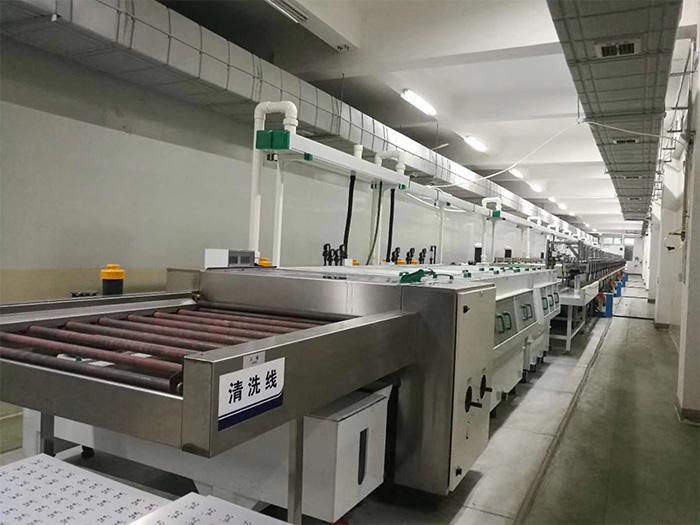 复合基覆铜板生产设备