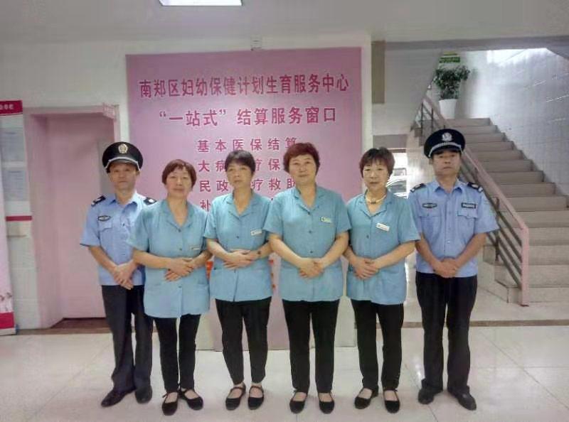 医院日常保洁团队