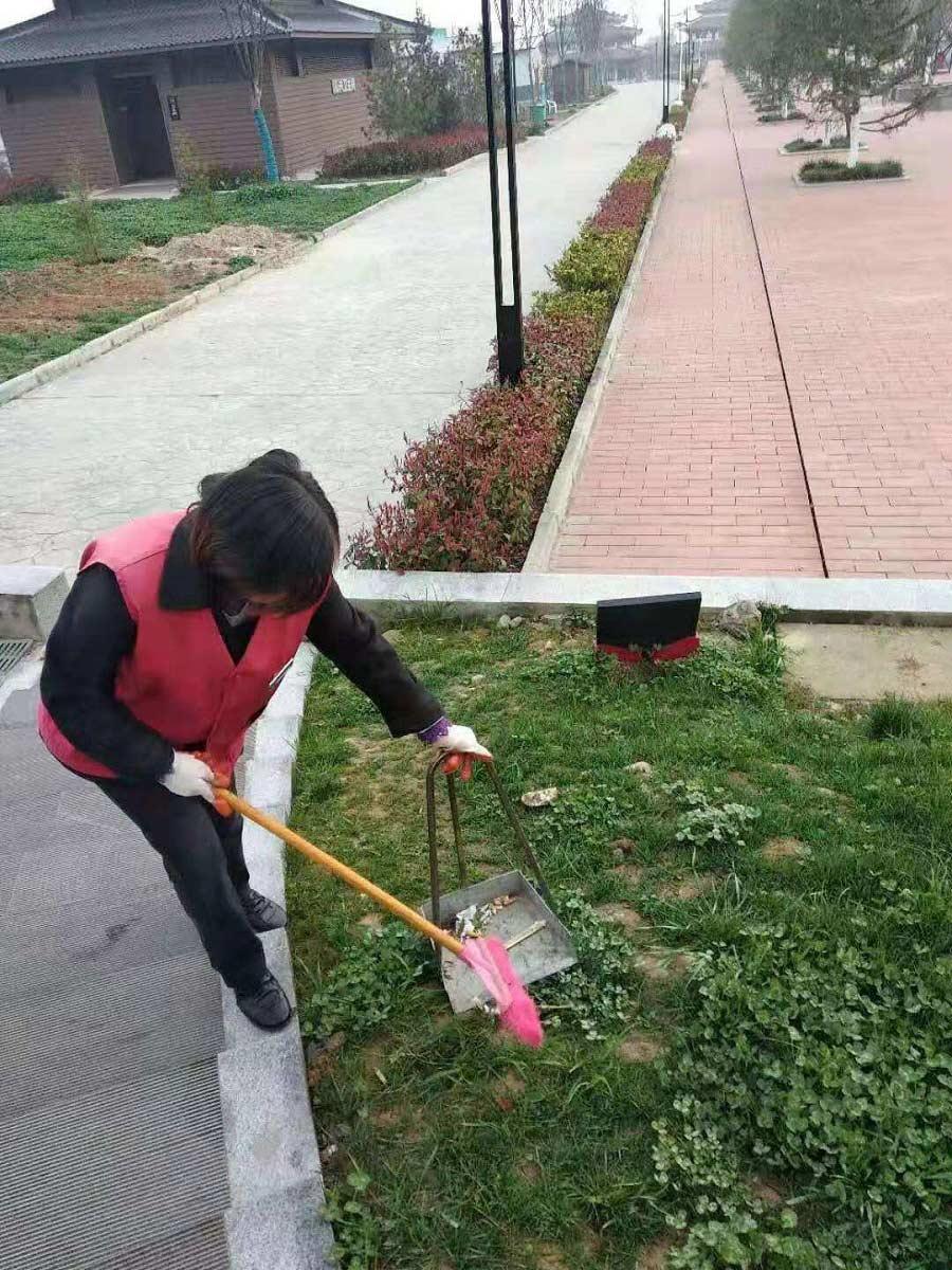 汉中景区日常保洁