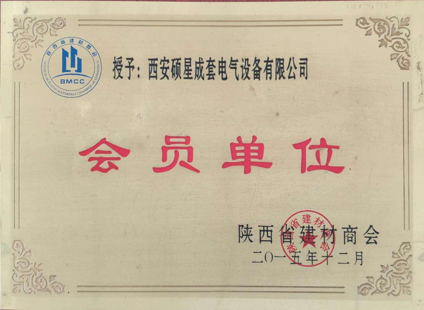 西安AG娛樂手機版下載電氣設備會員單位