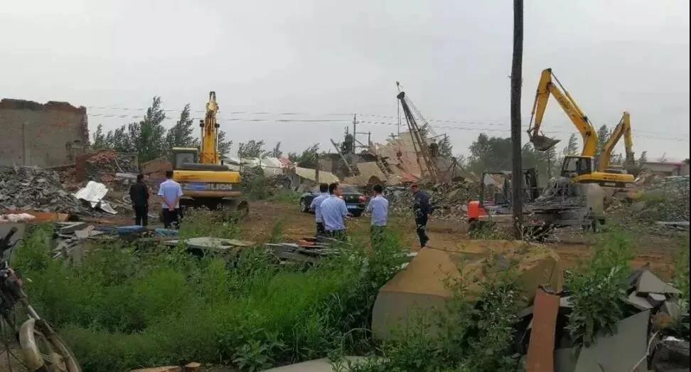 内蒙古察右前旗拆除石材生产企业64家、93台锯