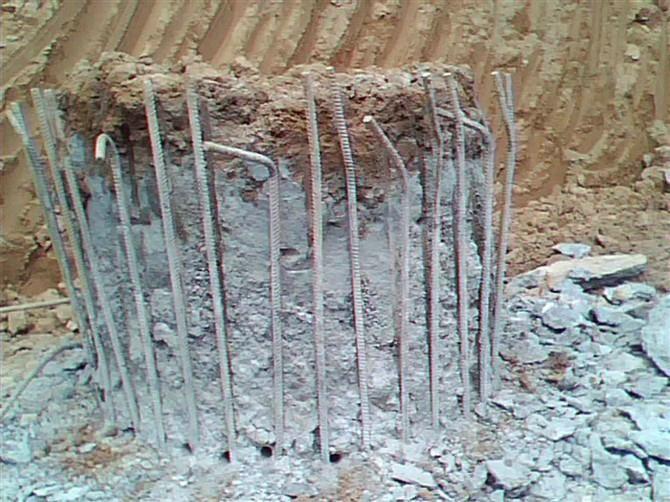 混凝土破碎方法