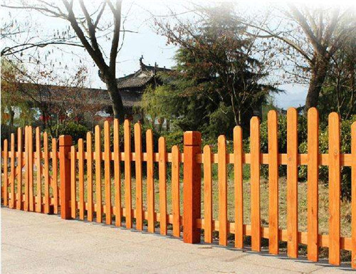 陕西防腐木围栏