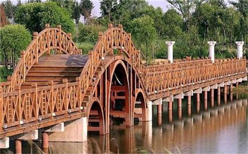 陕西防腐木木桥