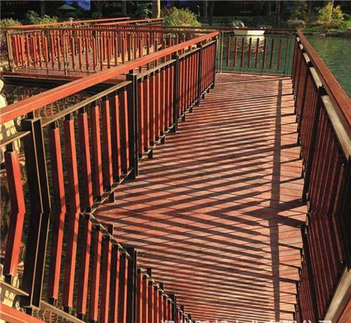 陕西防腐木木桥生产