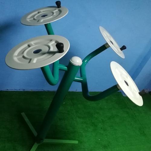 室外健身器材(太极揉推盘)