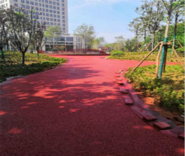 彩色透水地坪工程案例