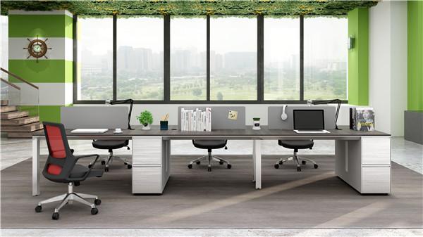 西安非屏风员工桌