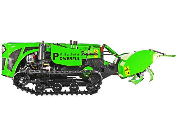自走履帶式旋耕機