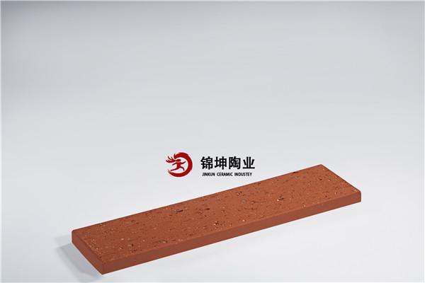 雷竞技电竞陶土砖  外墙劈开砖 红色