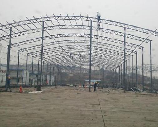 陕西钢结构-轻钢大棚工程案例