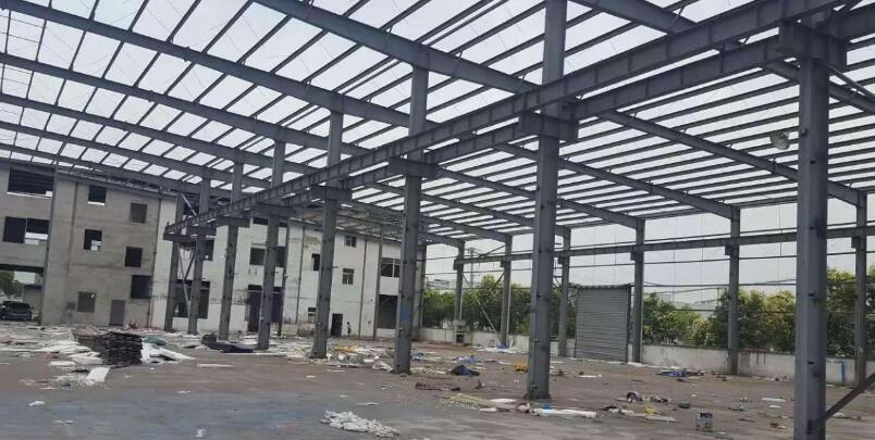 三原汽车站检测车间钢结构厂房