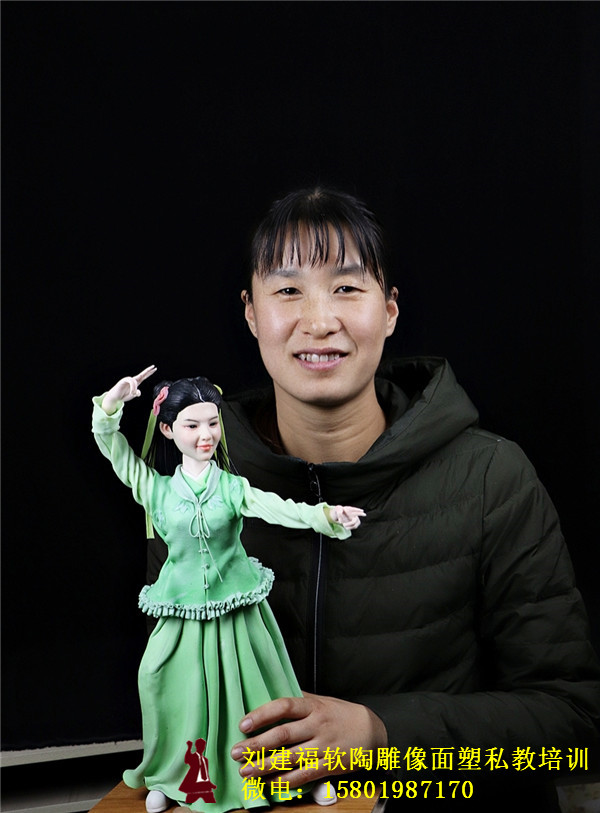 精品面塑培训师傅黄养娟女士