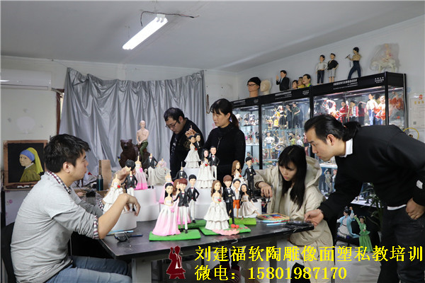 软陶人物雕像培训价格