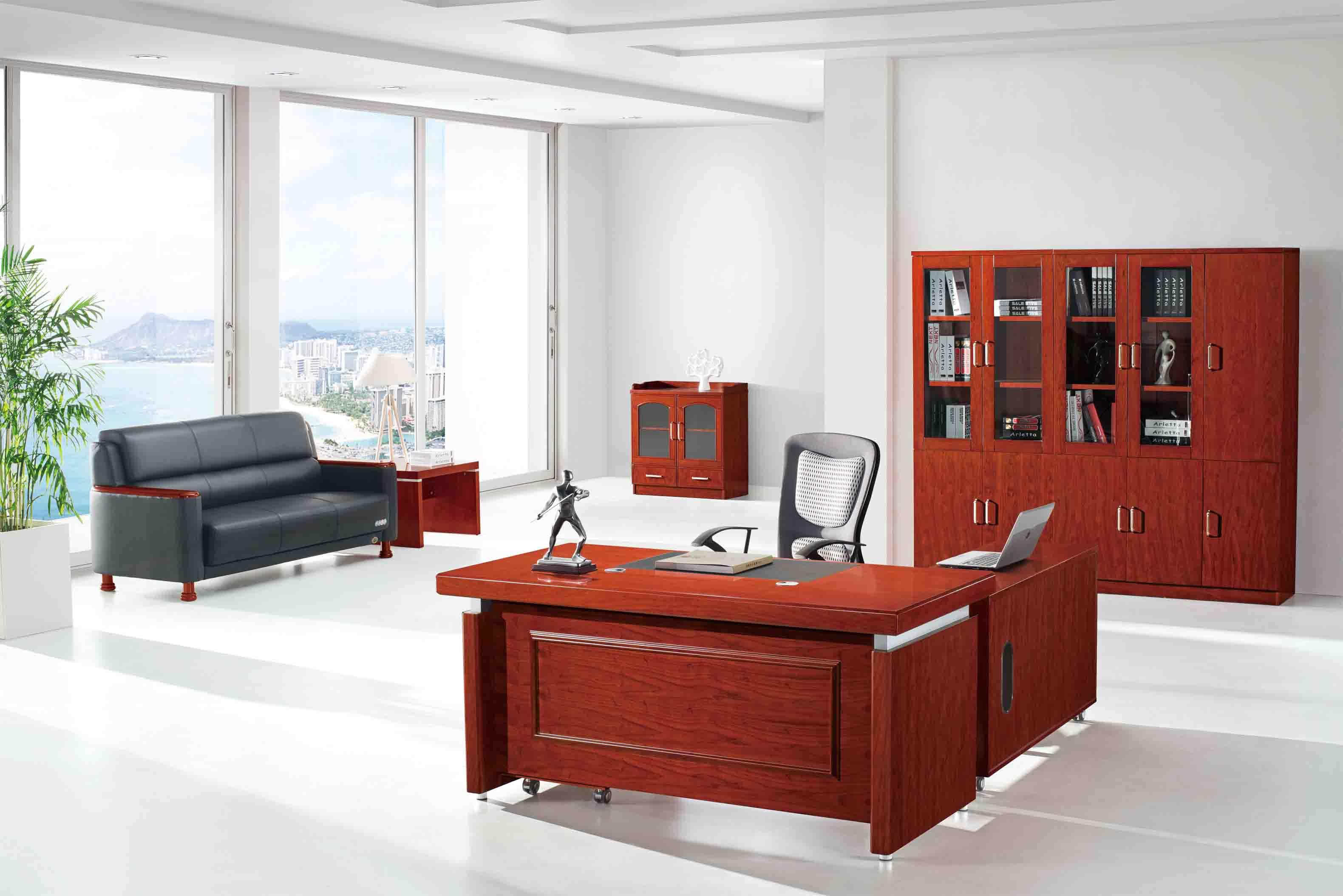 西安实木办公桌厂家